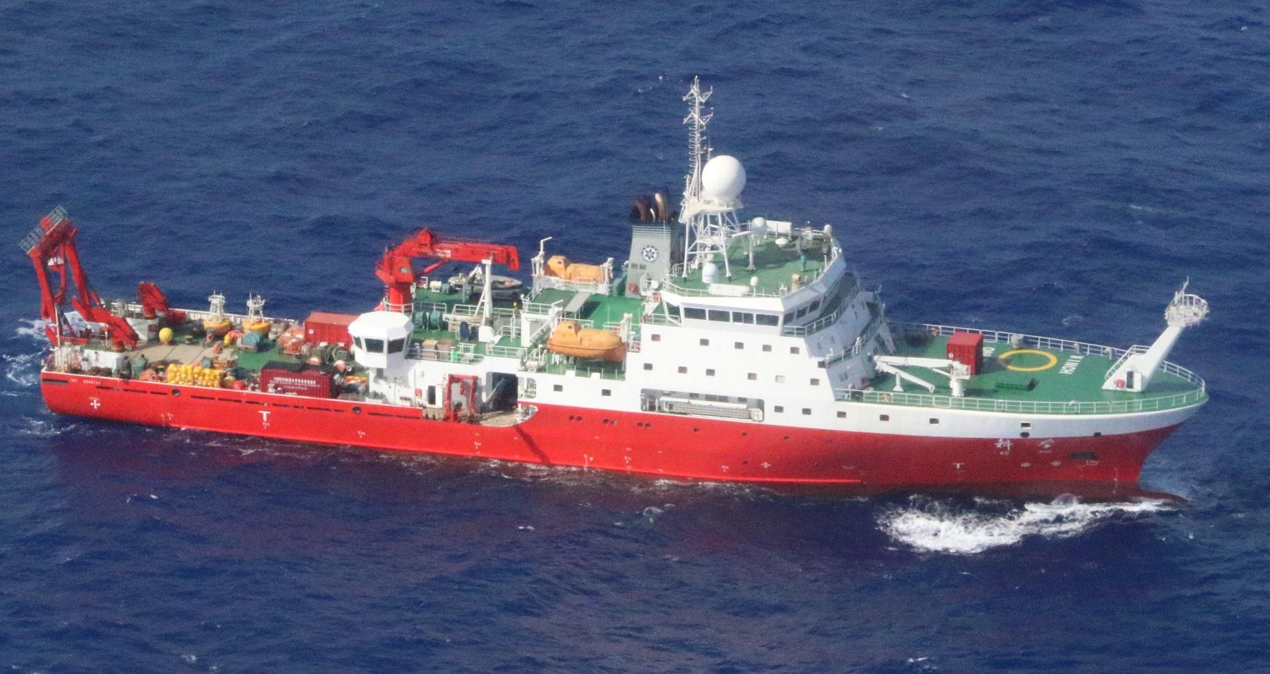 中国海洋調査船「科学」