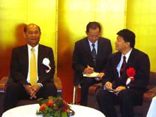 コーシット・タイ副首相との会談